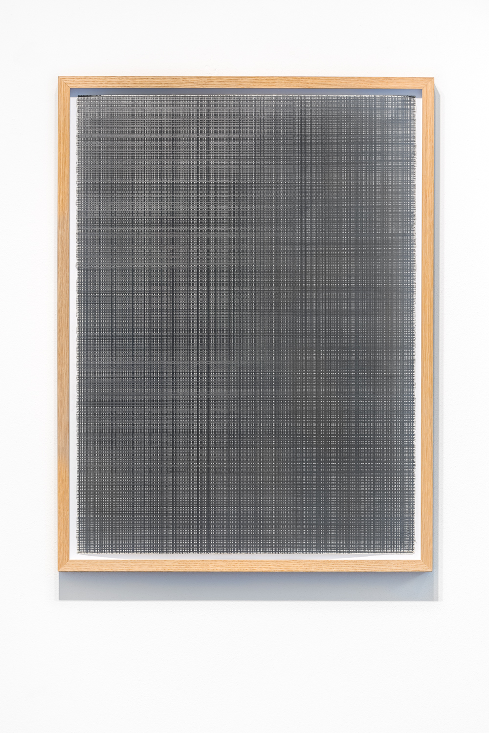 Installation view by Akira Arita, Untitled, 51 x 36,5 cm, pencil on paper, 2005