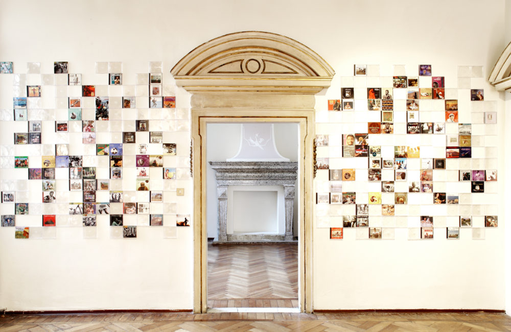 Installation view of Stefano Arienti Custodie vuote (solo show), curated by Francesca Pasini, 27th July-30th September 2012, Fondazione Bevilacqua La Masa