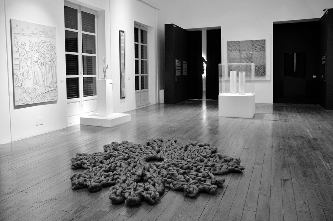 Installation view of Reti di resilienza, curated by Ilaria Bignotti and Enzo Fiammetta, 28th November-10th December 2014, Fondazione Orestiadi, Gibellina (TP)