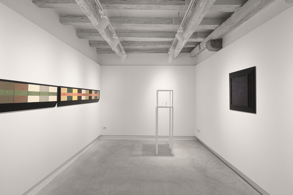 Installation view of Collettiva, curated by Guido Molinari, 28th September 2013-8th February 2014, Marignana Arte Venice