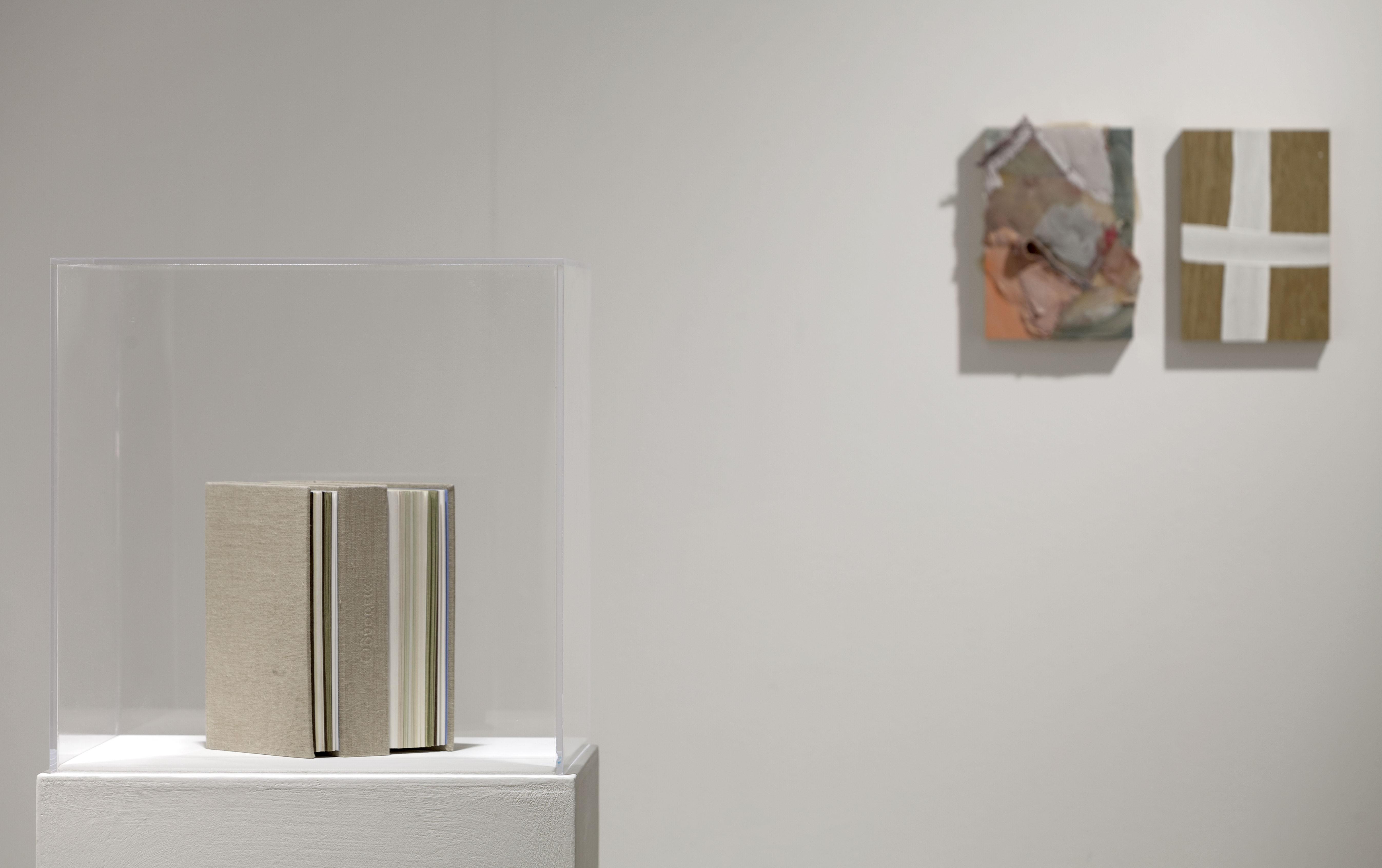 Installation view, Marignana Arte, Hotel nostos. Humble, nimble, dreamlike tumble, Sofia Stevi, Odissey, Diary series