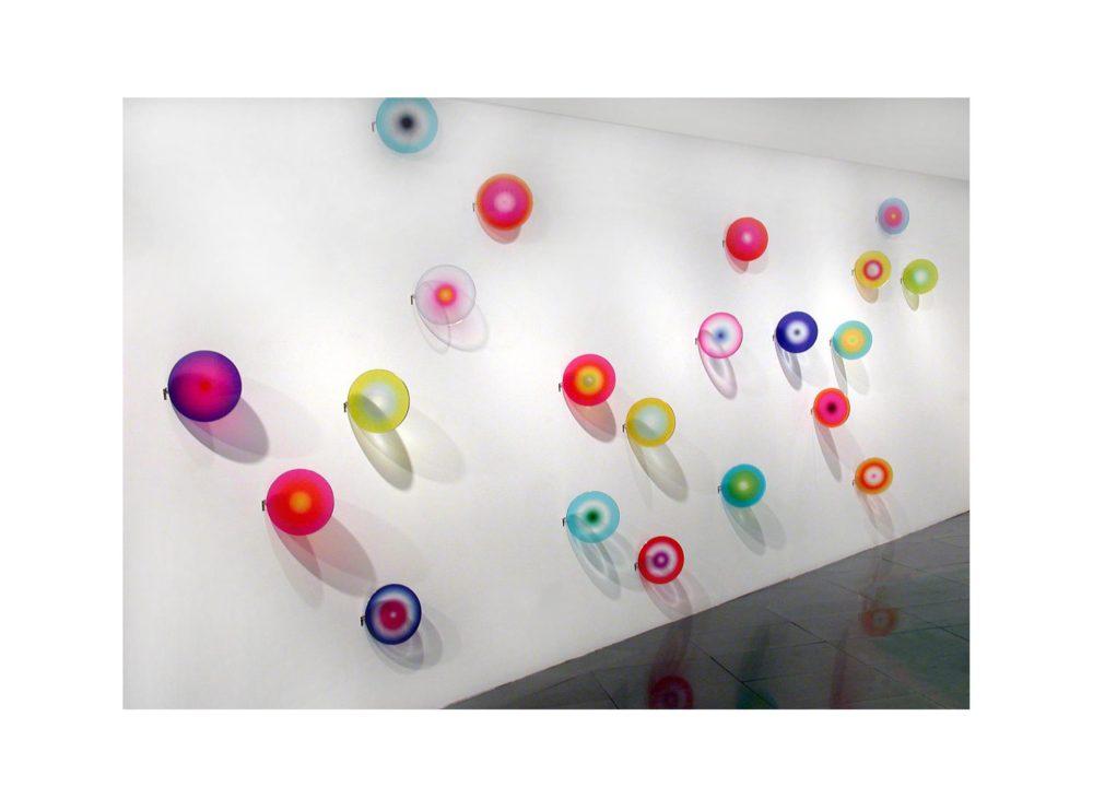 Installation view by Mariella Bettineschi, Voyager, 2007, Santa Monica Museum of Art, Santa Monica (CA)